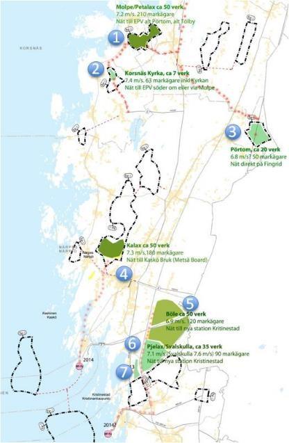 Karta projekt Finland